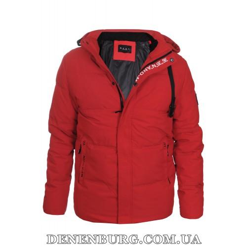 Куртка мужская зимняя KAIFANGELU 21-H6502.11 красная