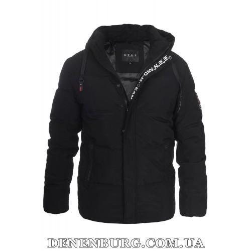 Куртка мужская зимняя KAIFANGELU 21-H6502.7 чёрная