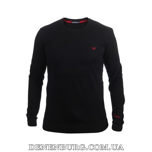 Свитшот мужской ARMANI 21-5000 чёрный