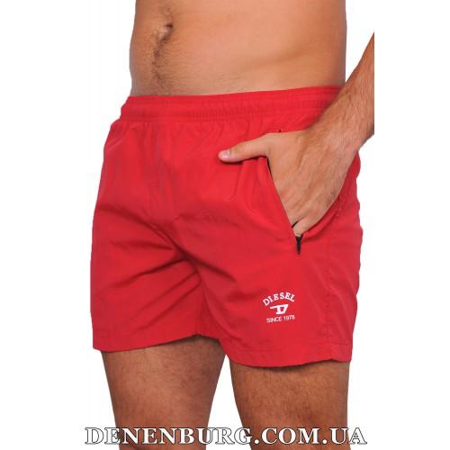 Шорты пляжные мужские DIESEL 19-6014 красные