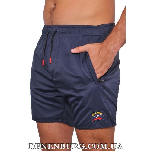 Шорты пляжные мужские PAUL & SHARK 19-S-207 тёмно-синие