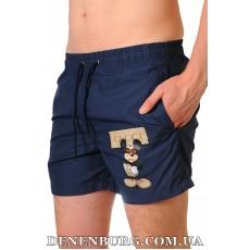 Шорты пляжные мужские GUCCI 9022 тёмно-синие