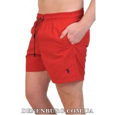 Шорты пляжные мужские POLO POL-21802 красные