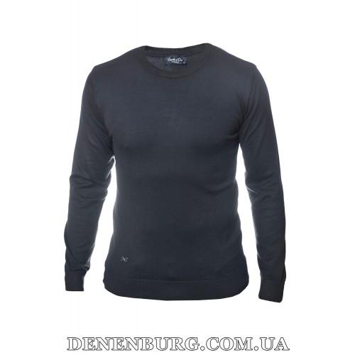 Свитер мужской CASTELLO D'ORO 19-001 тёмно-синий