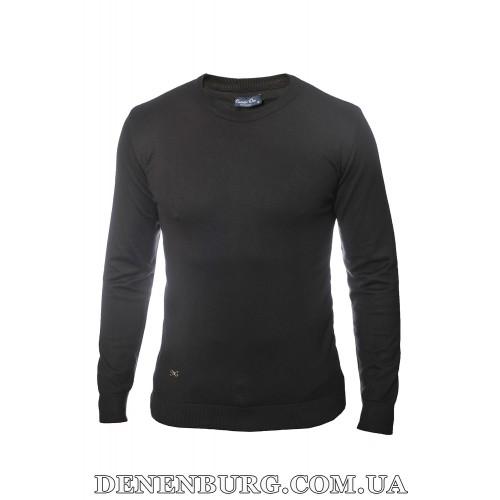 Свитер мужской CASTELLO D'ORO 19-001 чёрный