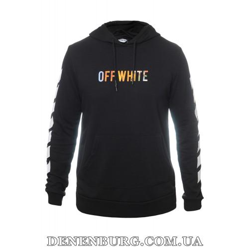 Толстовка мужская OFF-WHITE 19-5321 чёрная