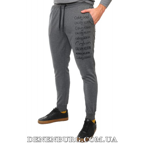 Штаны спортивные мужские CALVIN KLEIN 19-8042 серые