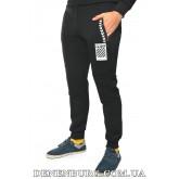 Штаны спортивные мужские утеплённые OFF-WHITE 19-906 чёрные