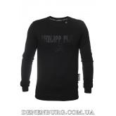 Лонгслив мужской PHILIPP PLEIN 19-P524 чёрный