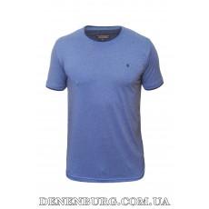 Футболка мужская LE GUTTI 20-1539-57 синяя