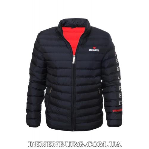 Куртка мужская демисезонная DSQUARED2 20-22844 тёмно-синяя