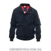 Куртка мужская демисезонная TOMMY HILFIGER 20-5015 тёмно-синяя