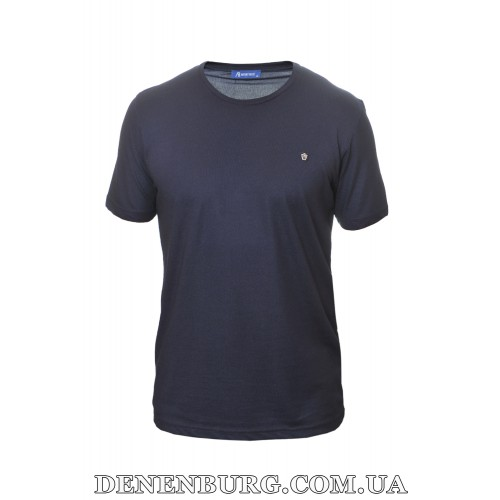 Футболка мужская ANTONY ROSSI 20-6449B тёмно-синяя
