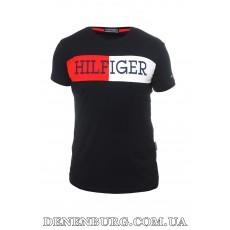 Футболка мужская TOMMY HILFIGER 20-Y-6014 тёмно-синяя