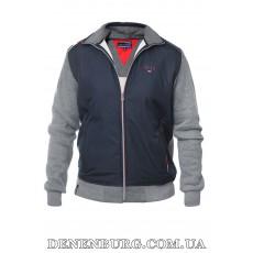 Костюм спортивный мужской утеплённый TOMMY HILFIGER 19-6545 серый