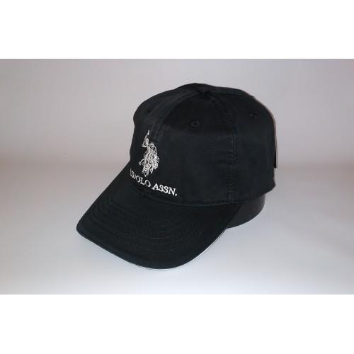 Бейсболка мужская POLO 20-0115 чёрная