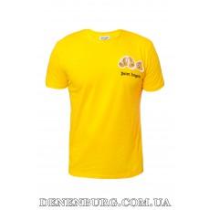 Футболка мужская PALM ANGELS 20-1063 жёлтая