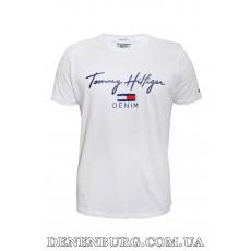 Футболка мужская TOMMY HILFIGER 20-13056 белая