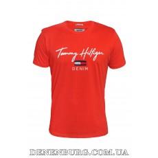 Футболка мужская TOMMY HILFIGER 20-13056 красная