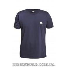 Футболка мужская KARL LAGERFELD 20-13081 тёмно-синяя