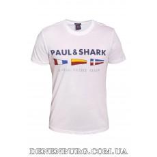 Футболка мужская PAUL & SHARK 20-3021 белая
