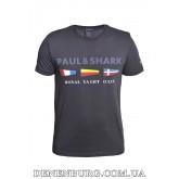 Футболка мужская PAUL & SHARK 20-3021 тёмно-синяя