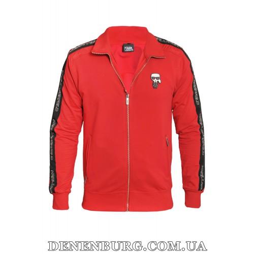 Костюм спортивный мужской KARL LAGERFELD 20-8074 красный