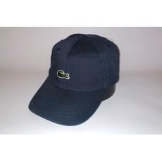 Бейсболка мужская LACOSTE 20-92 тёмно-синяя