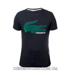 Футболка мужская LACOSTE 20-Y-9211 тёмно-синяя