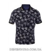 Футболка-поло мужская LE GUTTI 21-1523-17 тёмно-синяя