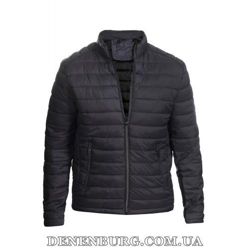 Куртка мужская демисезонная DISTRIC 21-22908 тёмно-серая