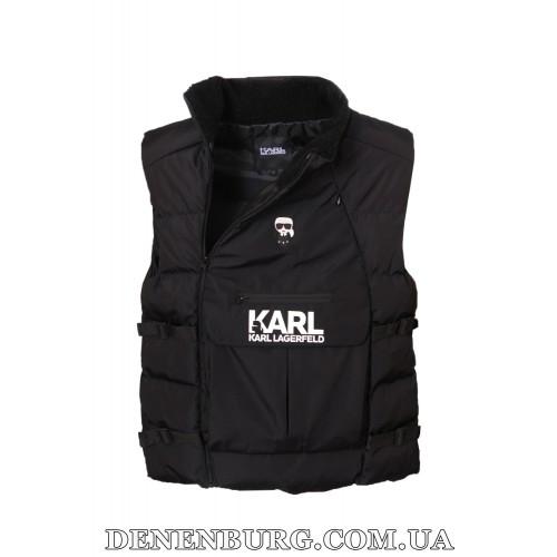 Жилет мужской KARL LAGERFELD 21-651 чёрный