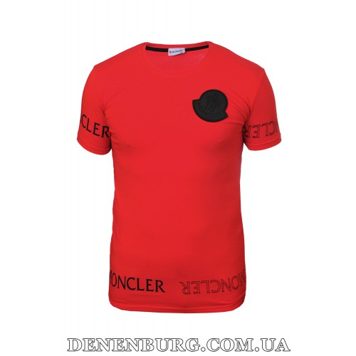 Футболка мужская MONCLER 21-8526 красная